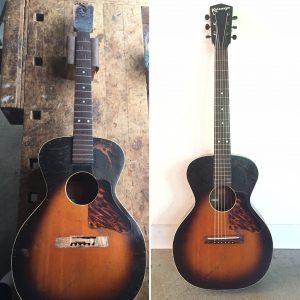Kalamazoo guitar restoration