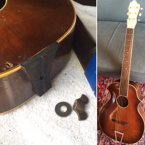 Chicago guitar restoration