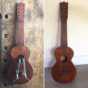 Taropatch ukulele restoration