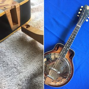Dobro mandolin restoration